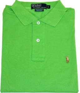 Polo by Ralph Lauren Mens Polo Shirt 100% Pima Cotton