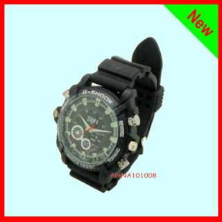 New 8GB 1080P hd infrared Night vision Watch hidden camera Waterproof