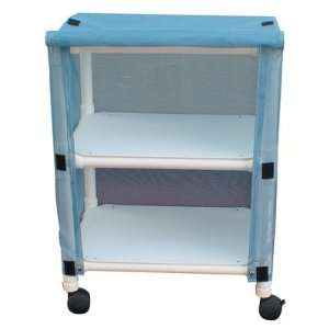 Echo Linen Cart with Cover Number of Shelves 2, Color Mauve, Cover