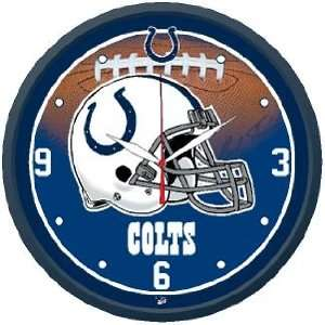 NFL Indianapolis Colts Team Logo Wall Clock Sports
