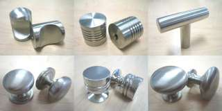 Stainless Steel 6 Cabinet Hardware Bar Pull Handle