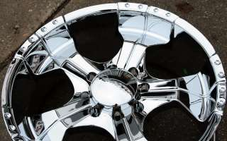 PANTHER REALM 280 22 CHROME RIMS WHEELS DODGE RAM 2500 8 LUG