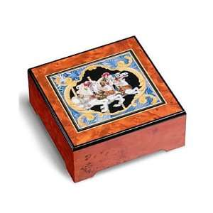 San Francisco Music Box Company Carousel Horse Jewelry Box