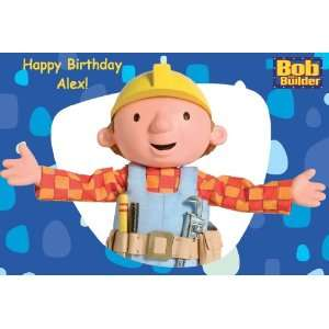 Builder Edible Cake Image Birthday Party NI
