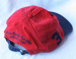 NWT Polo Ralph Lauren Match Player Ball Cap Hat BIG & TALL Size