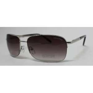 Kenneth Cole Reaction Sunglass Shiny Silver Rimless