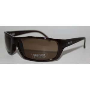Kenneth Cole Reaction Sunglass Solid Dark Brown / Solid