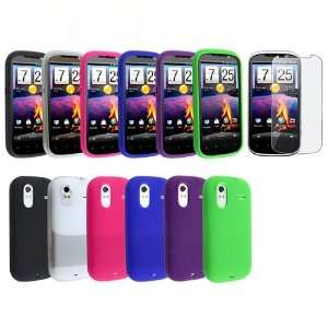 film for HTC Amaze 4G (Black, Purple, Blue, Hot Pink, Clear White