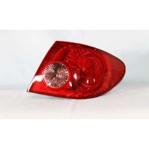 Toyota Corolla Replacement Tail Lights RH Right Passenger