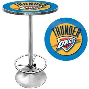 NBA2000 OCT   Oklahoma City Thunder NBA Chrome Pub Table