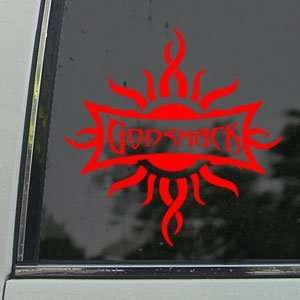 Godsmack Red Decal Rock Band Car Truck Window Red Sticker