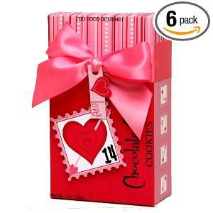 Too Good Gourmet Valentine Day Gift Box with Chocolate Chip Cookies, 7