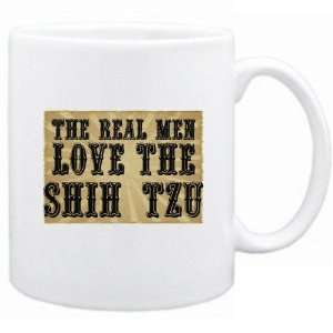 New  The Real Men Love The Shih Tzu  Mug Dog
