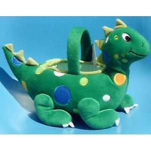 Dinosaur Easter Basket; Plush Stuffed Toy Toys & Games