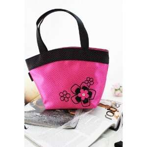 New Adorable Daisy Love Hot Pink Small Tote Bag Beauty