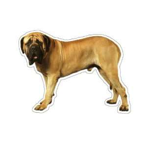 MASTIFF   Dog Decal   sticker dogs car got window