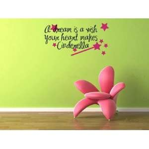Your Heart Makes   Cinderella Vinyl Wall Decal Sticker Graphic Words