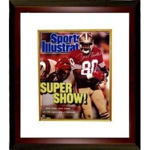 Jerry Rice Autographed/Hand Signed San Francisco 49ers SI Cover 16x20
