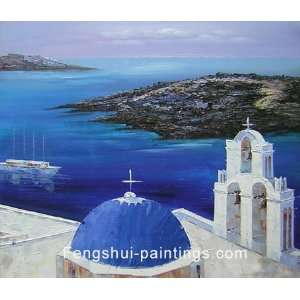 Mediterranean Painting, Modern Art, Oil Painting, Canvas