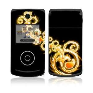 LG Chocolate 3 (VX8560) Skin Decal Sticker   Abstract Gold
