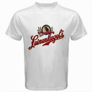 Leinenkugel Beer Logo New White T Shirt Size  S, M ,L , XL , 2XL
