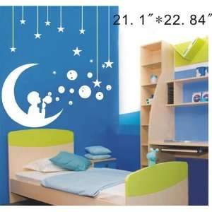 Large  Easy instant decoration wall sticker decor  dream