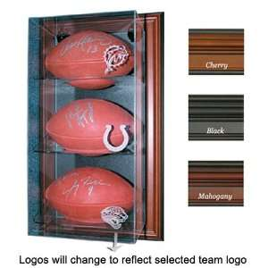 San Diego Chargers NFL Case Up 3 Football Display Case