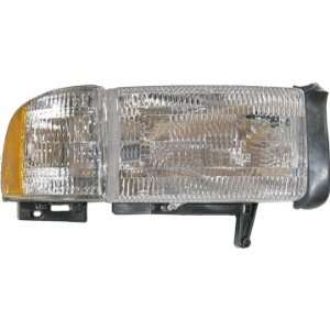 94 02 Dodge Ram Pickup Truck Headlight Passengers Side