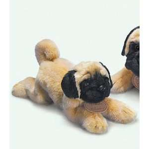 Pug Dog Plush Yomiko Classic 11 Stuffed Animal Dog By Russ
