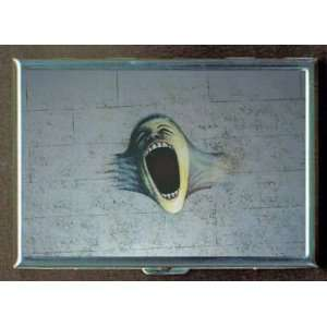 PINK FLOYD THE WALL SCREAM ID Holder, Cigarette Case or Wallet MADE