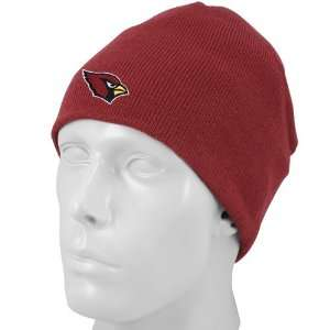 Reebok Arizona Cardinals Red Knit Beanie Cap Sports