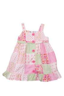 NWT BT Kids Newborn Girls 2 pc pink dress set