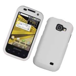 RUBBER WHITE HARD SNAP CASE FOR SAMSUNG TRANSFORM M920