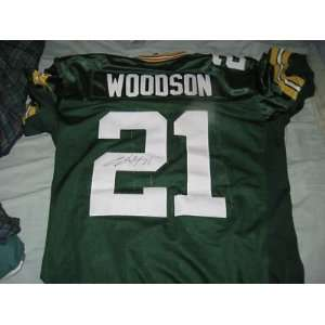 Charles Woodson Green Bay Packers Signed Jersey Reebok