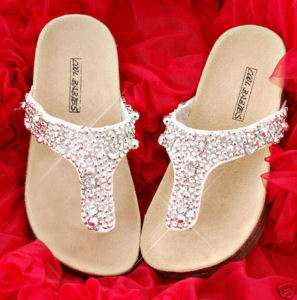NEW Girls Flip Flops Shoes Sandals 8 9 10 11 12 13 1