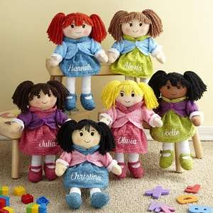 Personalized Rag Dolls Toys & Games