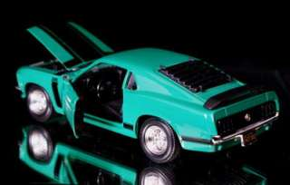 1970 Ford Mustang BOSS 302 Diecast 124 Green