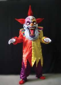 GIANT SCARY CLOWN HALLOWEEN COSTUME MASK PROP NEW HUGE