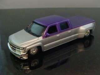 Hot Wheels 2000 Chevy 3500 Crew Cab Dually 1/64 Ltd Edtion 4 Detailed
