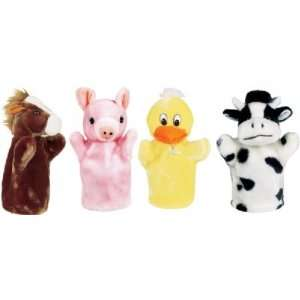 Animal hand puppet Farm Set 1