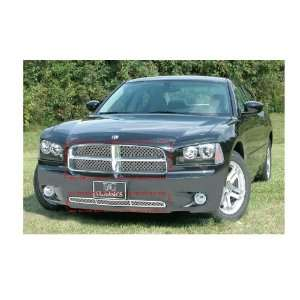 DODGE CHARGER 2006 2010 DUAL WEAVE MESH CHROME GRILLE