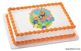 Backyardigans Edible Image Icing Cake Topper
