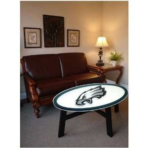 Philadelphia Eagles Helmet Design Coffee Table