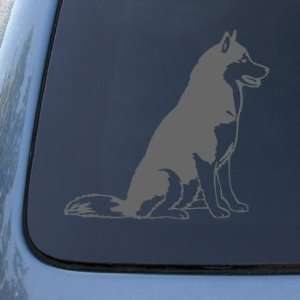 SIBERIAN HUSKY   Dog   Vinyl Car Decal Sticker #1560  Vinyl Color
