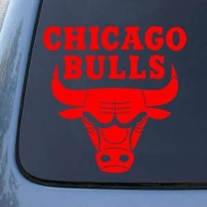 CHICAGO BULLS   Vinyl Decal Sticker #A1339  Vinyl Color