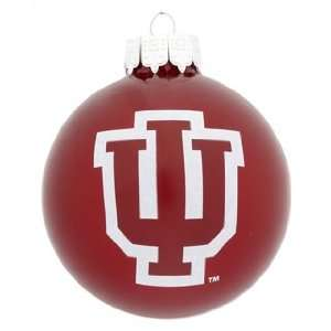 Personalized Indiana University Christmas Ornament