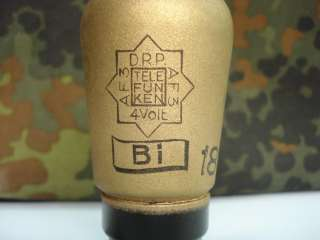 WWII 1939 GERMAN TELEFUNKEN RADIO GLASS TUBE AF3   DRP