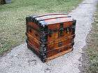 VINTAGE CHEST small jewelry box ANTIQUE TRUNK