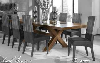 Timber Art Deco Dining Table