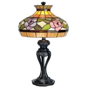 com Dale Tiffany Lighting TT60568 Alexandra Rose One Light Table Lamp
